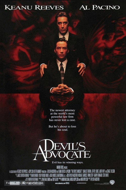 The Devil's Advocate - Movie Poster