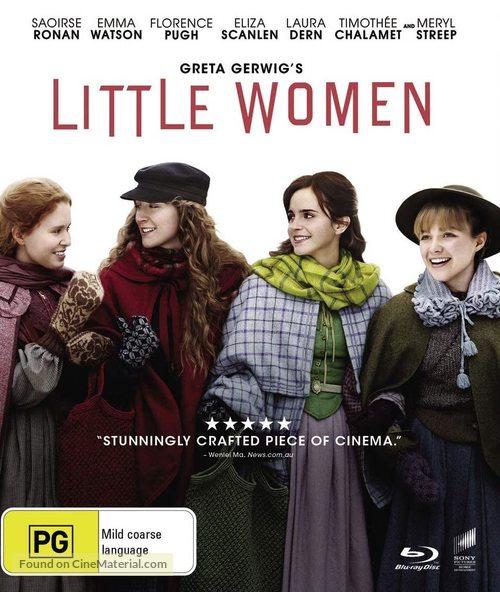 Little Women - Australian Blu-Ray movie cover