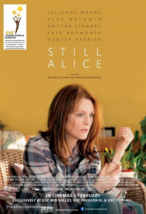Still Alice - Malaysian Movie Poster