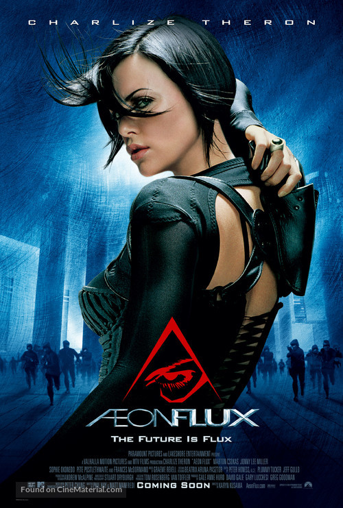 Æon Flux - Movie Poster