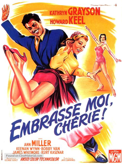 Kiss Me Kate - French Movie Poster