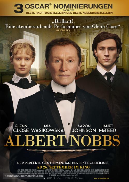 Albert Nobbs - German Movie Poster