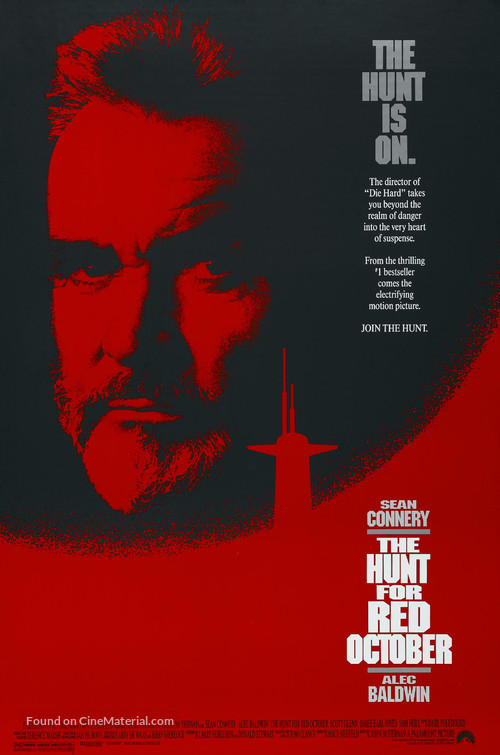 The Hunt for Red October - Movie Poster