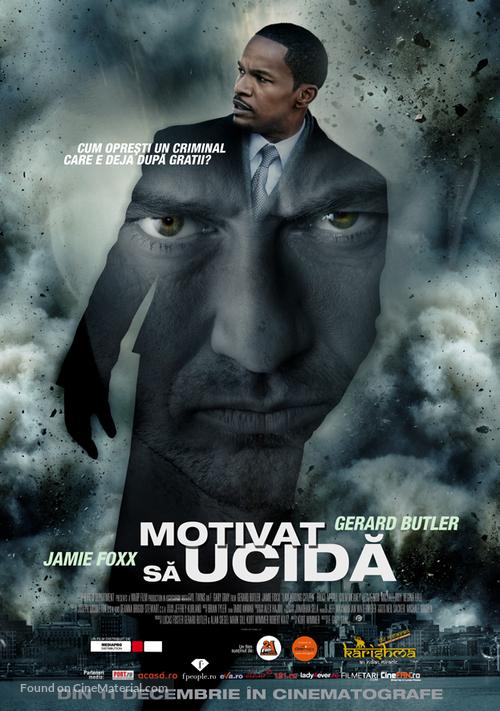 Law Abiding Citizen - Romanian Movie Poster