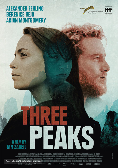 Three Peaks - German Movie Poster