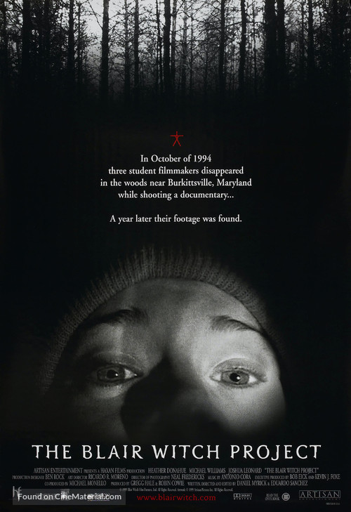 The Blair Witch Project - Movie Poster