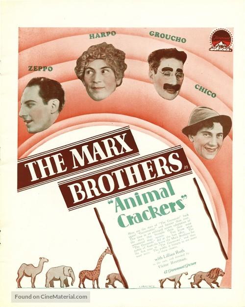 Animal Crackers - Movie Poster
