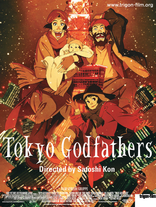 Tokyo Godfathers - Movie Poster