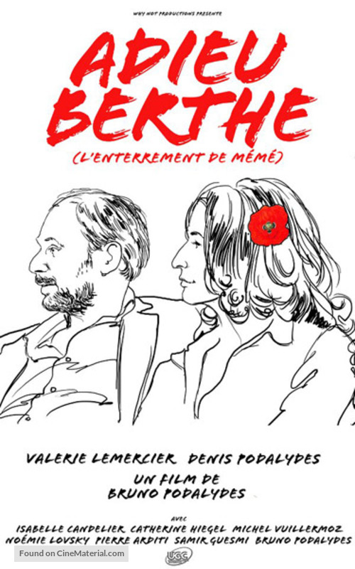 Adieu Berthe - L'enterrement de mémé - French Movie Poster
