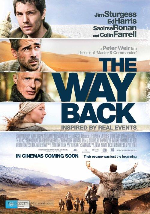 The Way Back - Australian Movie Poster