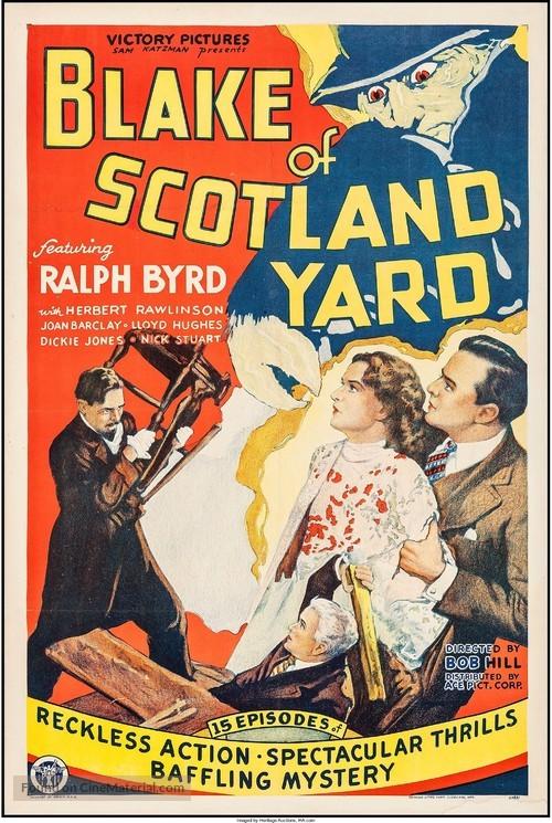 Blake of Scotland Yard - Movie Poster