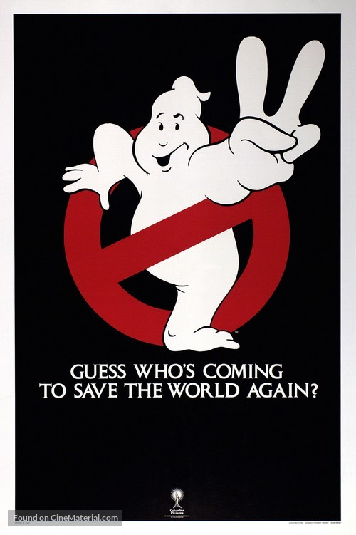 Ghostbusters II - Teaser movie poster