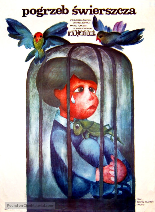 Pogrzeb swierszcza - Polish Movie Poster