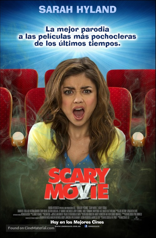 Scary Movie 5 2013 Argentinian Movie Poster