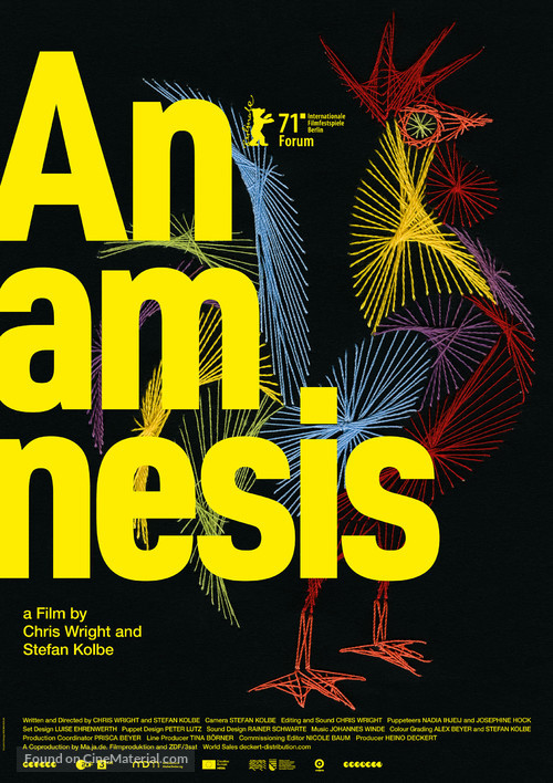 Anamnesis - International Movie Poster