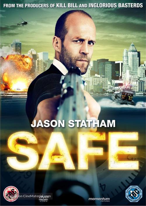 Safe - British DVD movie cover