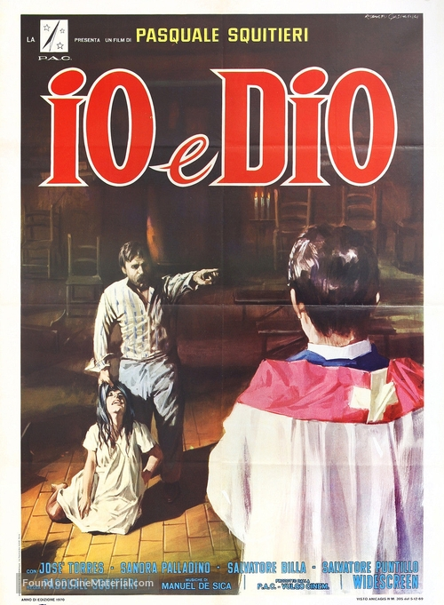 Io e Dio - Italian Movie Poster