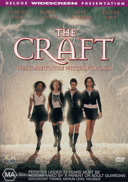 The Craft - Australian Movie Cover