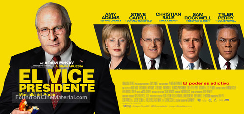 Vice - Mexican Movie Poster