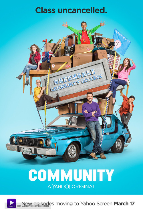 """Community"" - Movie Poster"