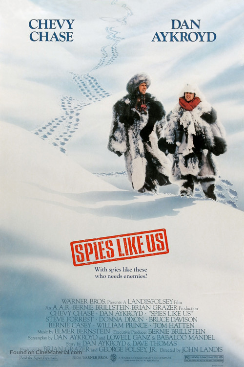 Spies Like Us - Movie Poster