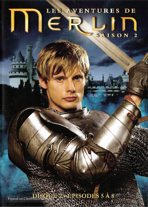 """""""Merlin"""" - French Movie Cover"""