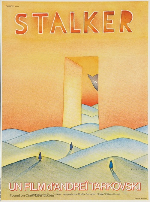 Stalker - French Movie Poster