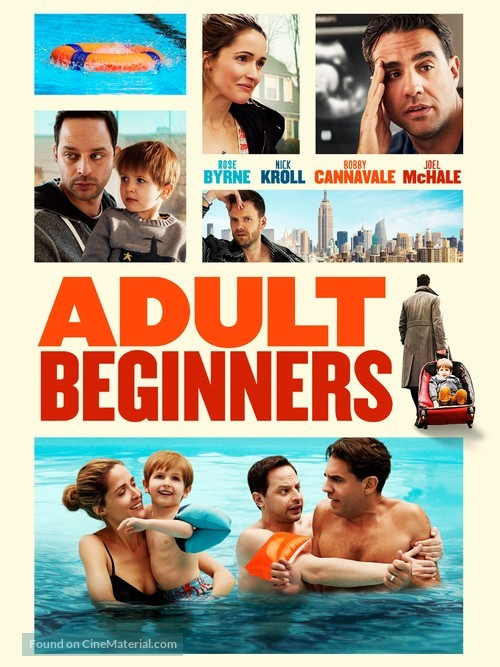 Adult Beginners - DVD movie cover