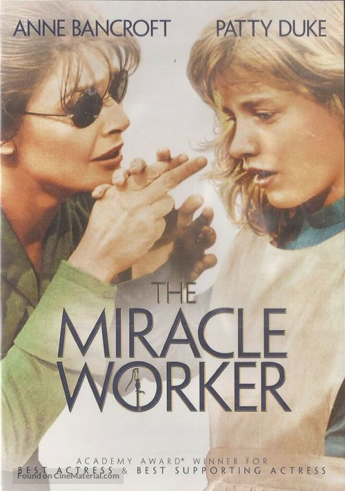 The Miracle Worker - DVD movie cover