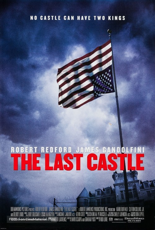 the last castle movie poster