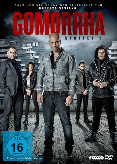 """""""Gomorra"""" - German Movie Cover"""
