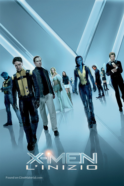 X-Men: First Class - Italian Movie Poster