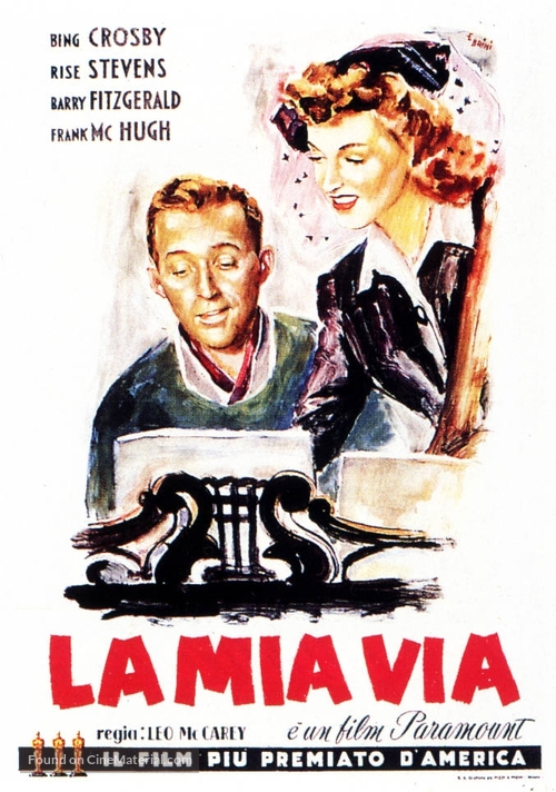 Going My Way - Italian Movie Poster