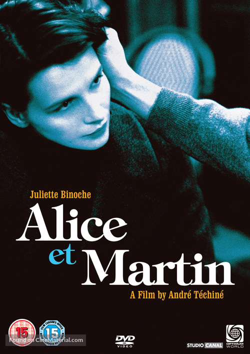 Alice et Martin - British Movie Cover