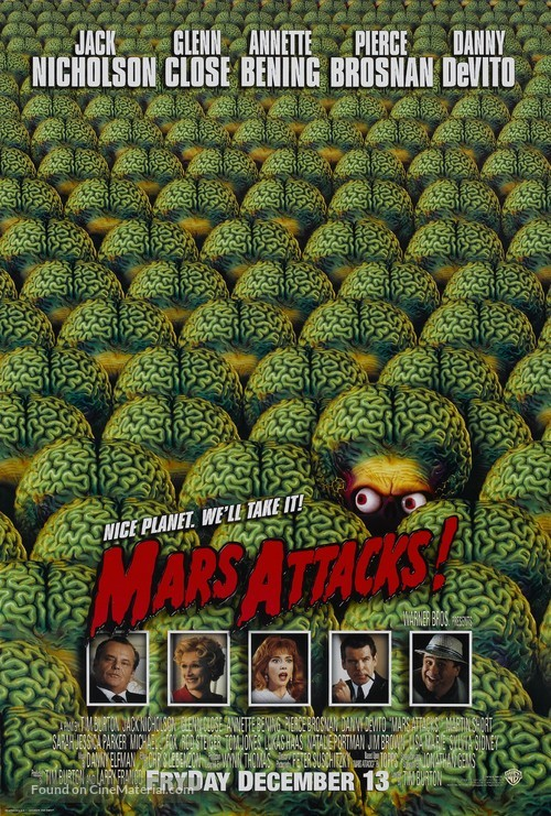 Mars Attacks! - Theatrical poster