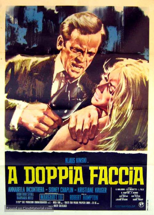 A doppia faccia - Italian Movie Poster