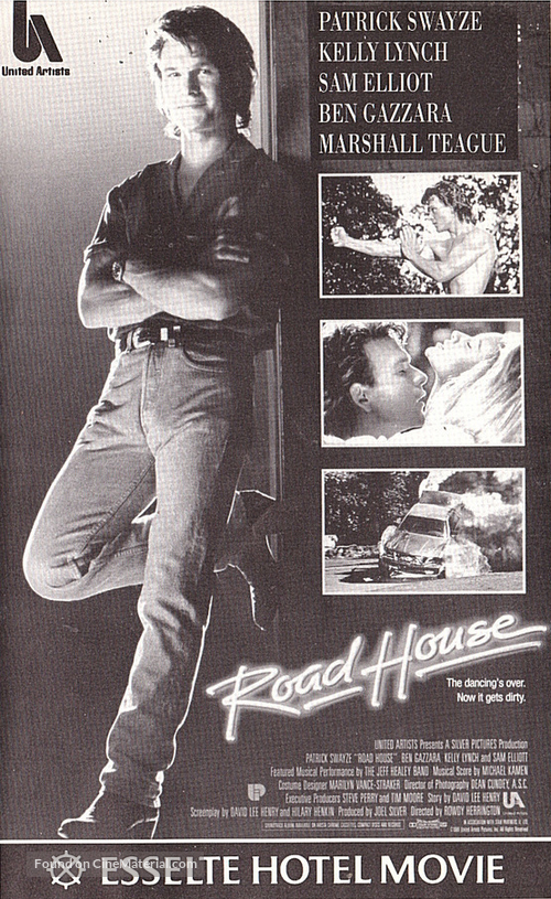 Road House - Finnish Movie Cover