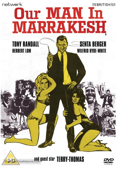 Our Man in Marrakesh - British DVD movie cover