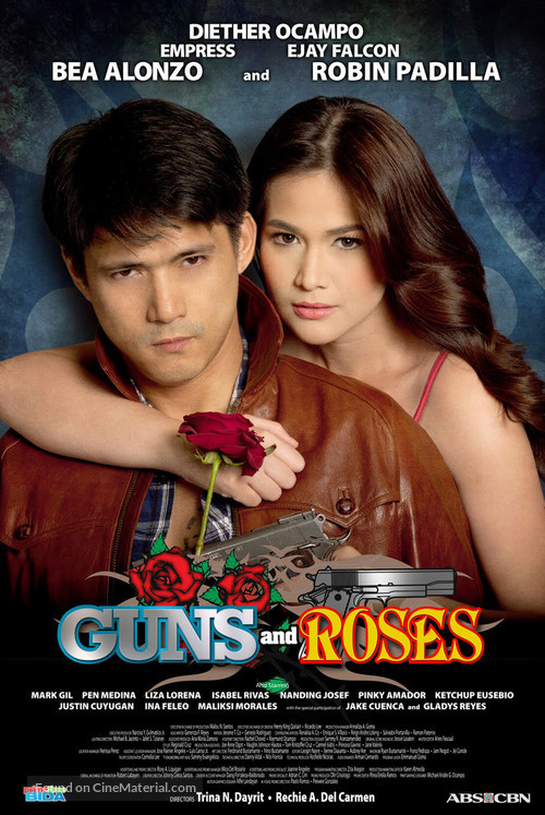 """""""Guns and Roses"""" - Philippine Movie Poster"""