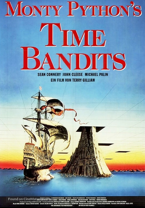 Time Bandits - German Movie Poster