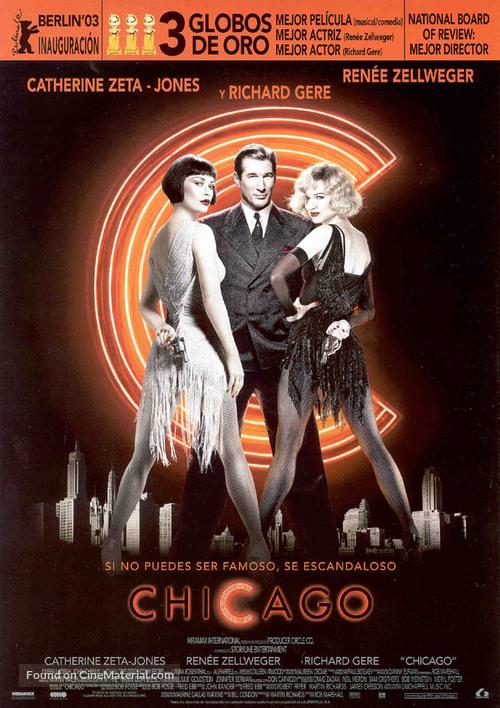 Chicago - Spanish Movie Poster