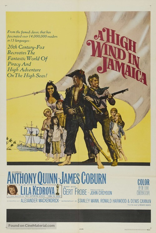 A High Wind in Jamaica - Movie Poster