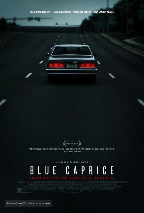 Blue Caprice - Movie Poster