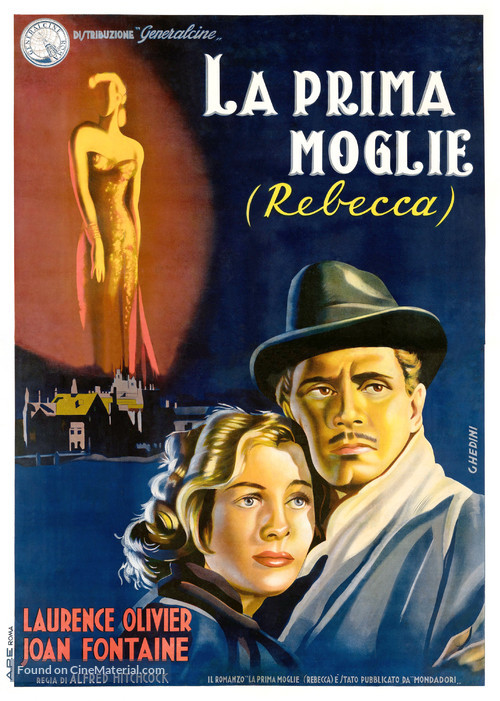 Rebecca - Italian Movie Poster
