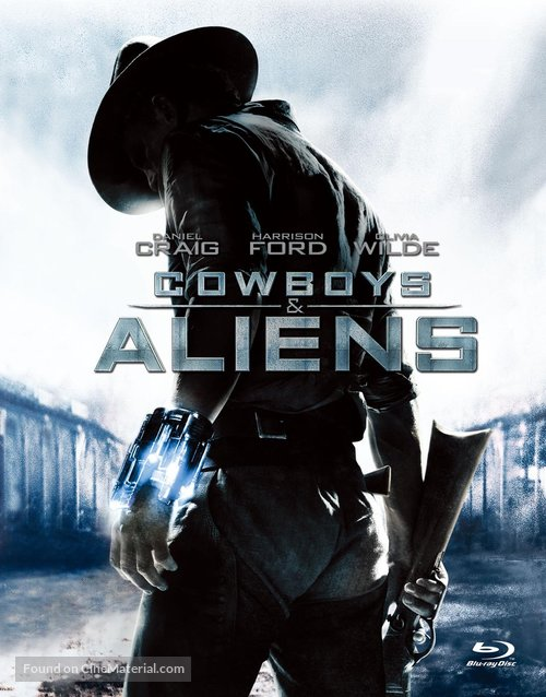 Cowboys Aliens 2011 Chinese Movie Cover