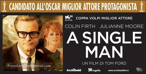 A Single Man - Italian Movie Poster