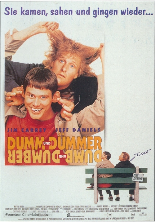 Dumb & Dumber - German Movie Poster