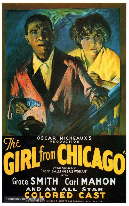 The Girl from Chicago - Movie Poster