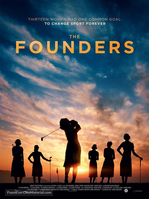 The Founders - British Movie Poster