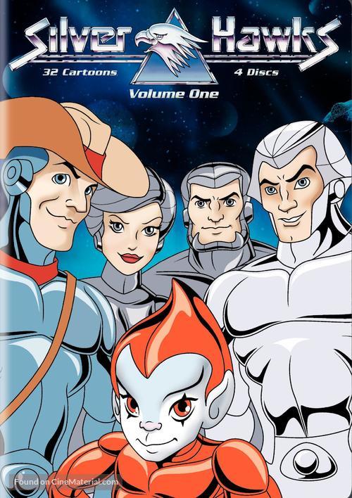 """Silverhawks"" - DVD movie cover"